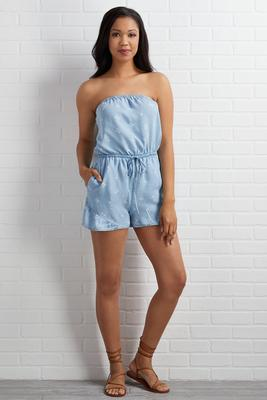 keep palm and carry on romper