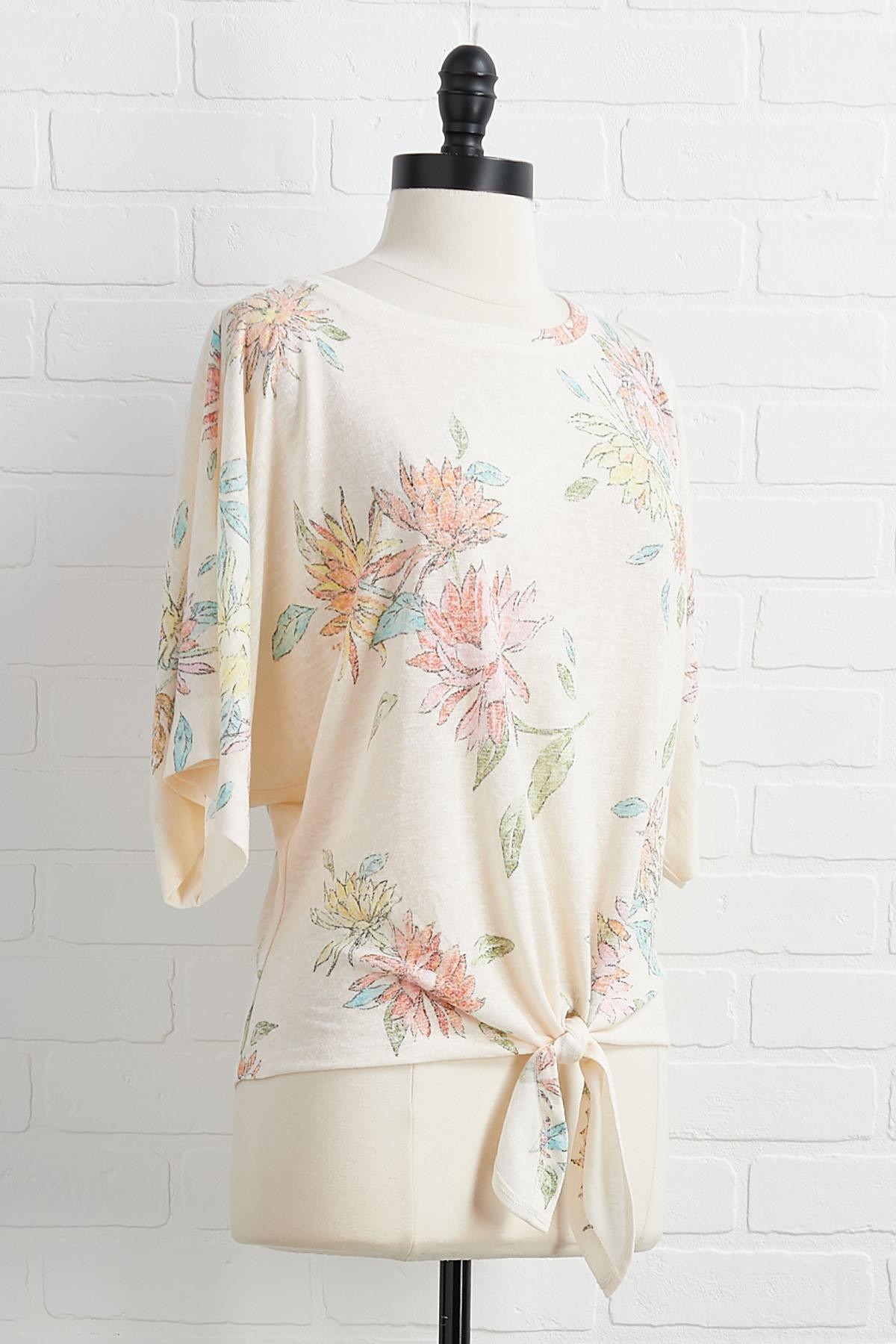 Feelin ` Flowerful Top