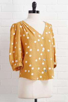 golden girl top