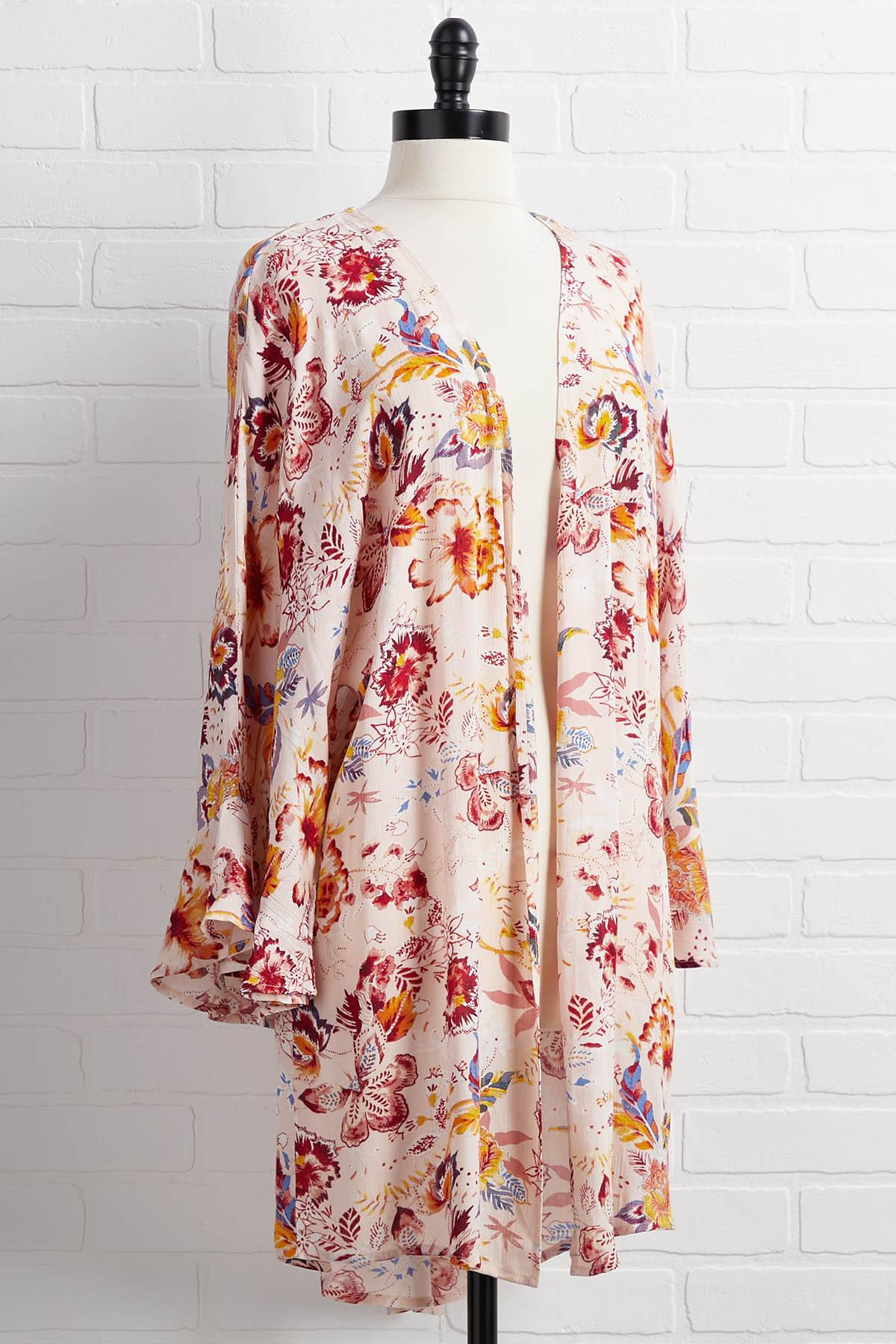 Globe Trotter Kimono