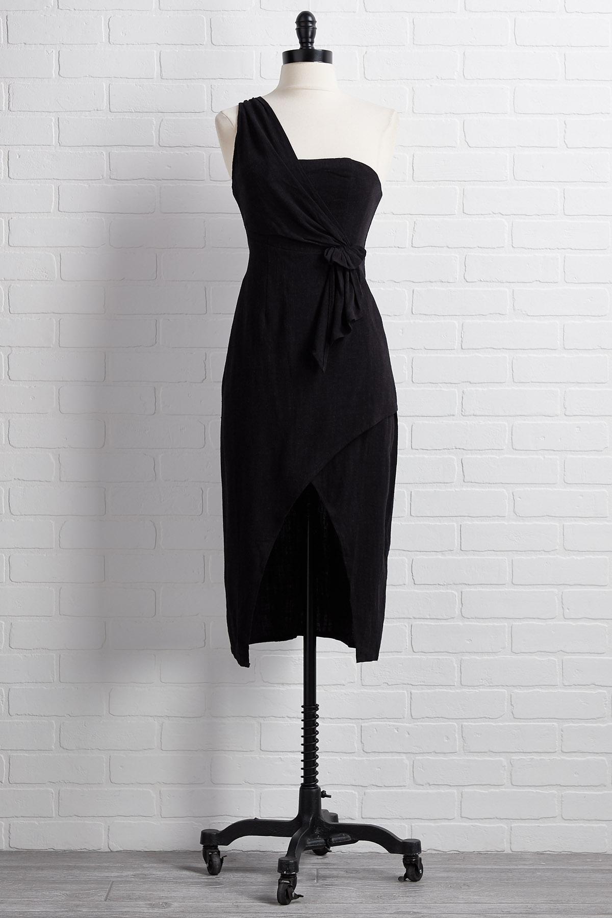 One On One Shoulder Dress