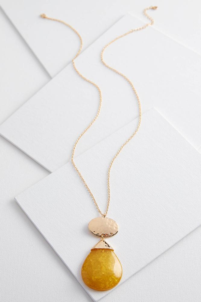 Tear Pendant Necklace