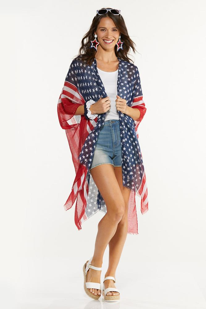 Pretty Patriotic Kimono