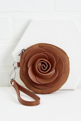 rose to the occasion wristlet