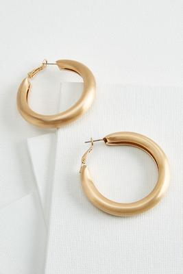 nineties hoop earrings
