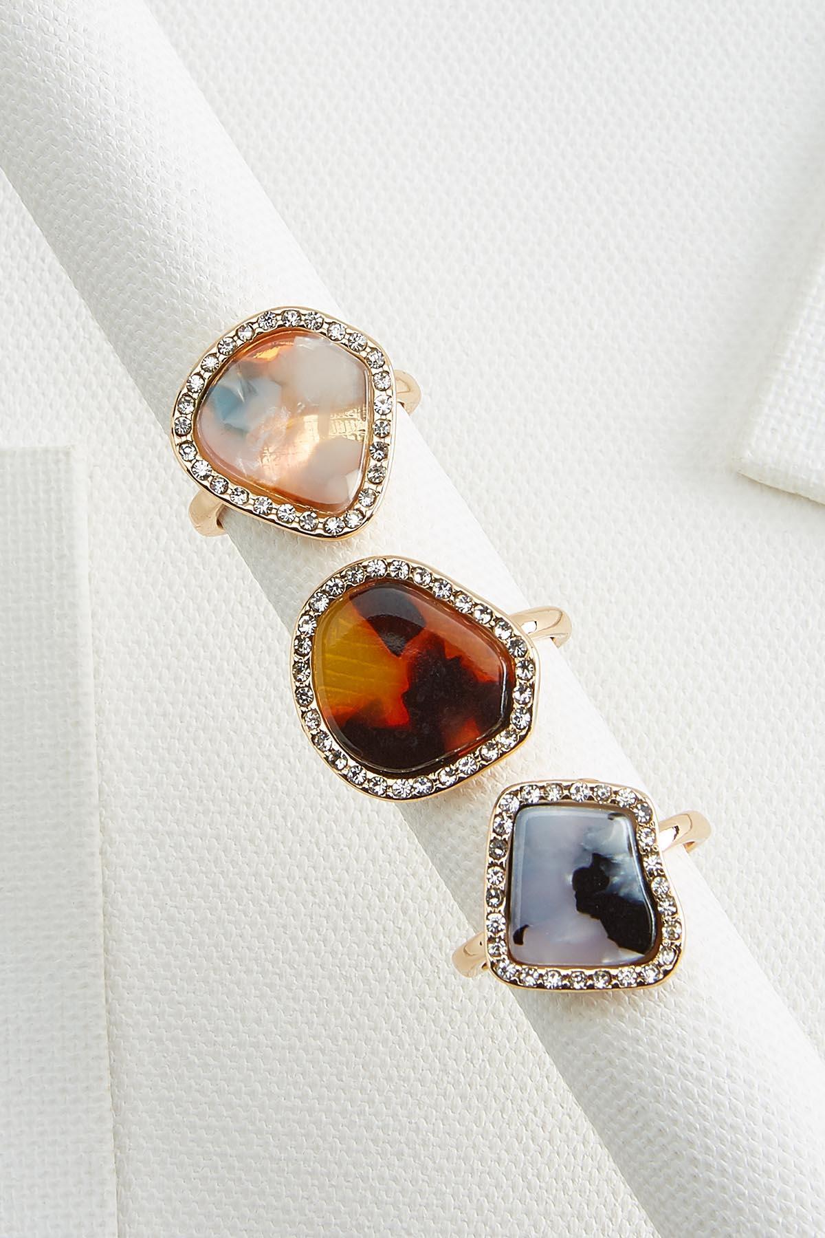 Natural Glam Rings