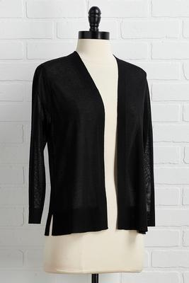 can you sheer it cardigan