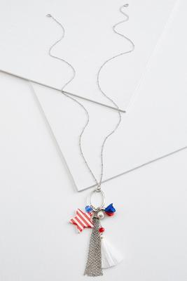 americana pendant necklace
