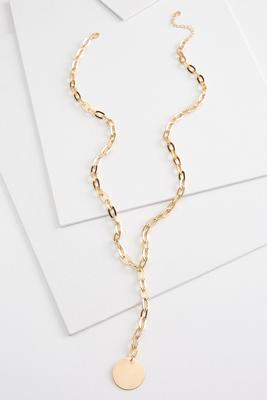 y-neck chain necklace