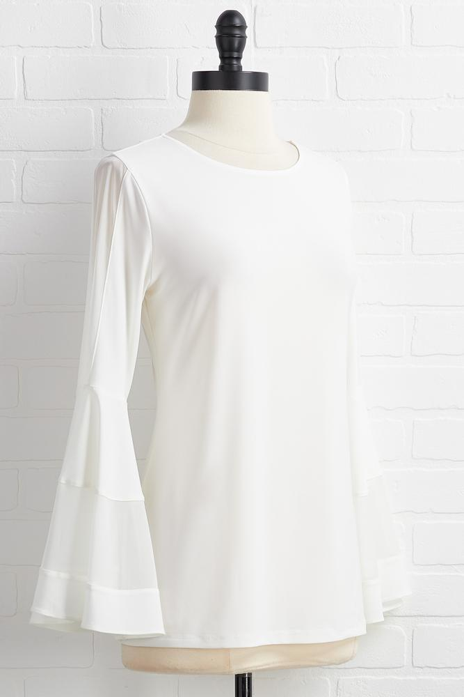 Sheer Me Out Top