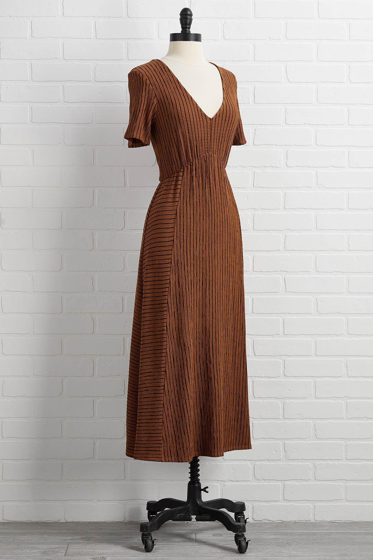 Back In A Midi Dress
