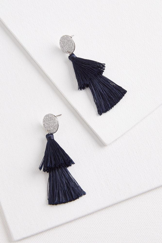 Glitter Tassel Earrings