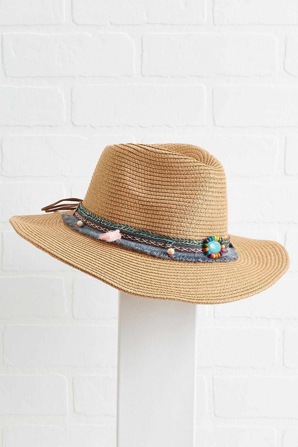 Beaded Tassel Cowboy Hat