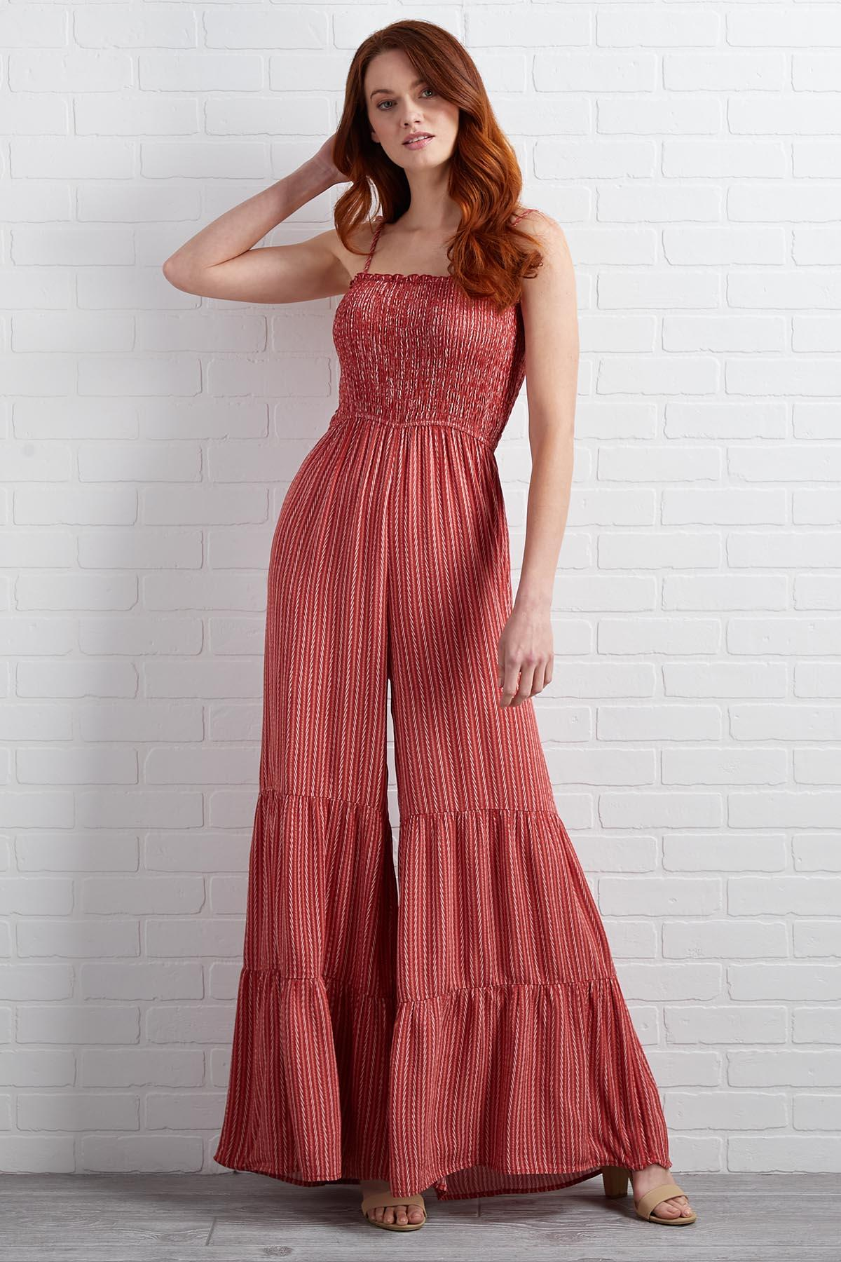 Handle With Flare Jumpsuit