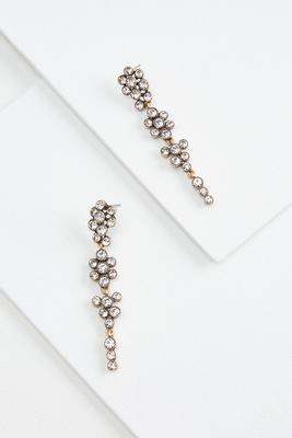 glam linear earrings