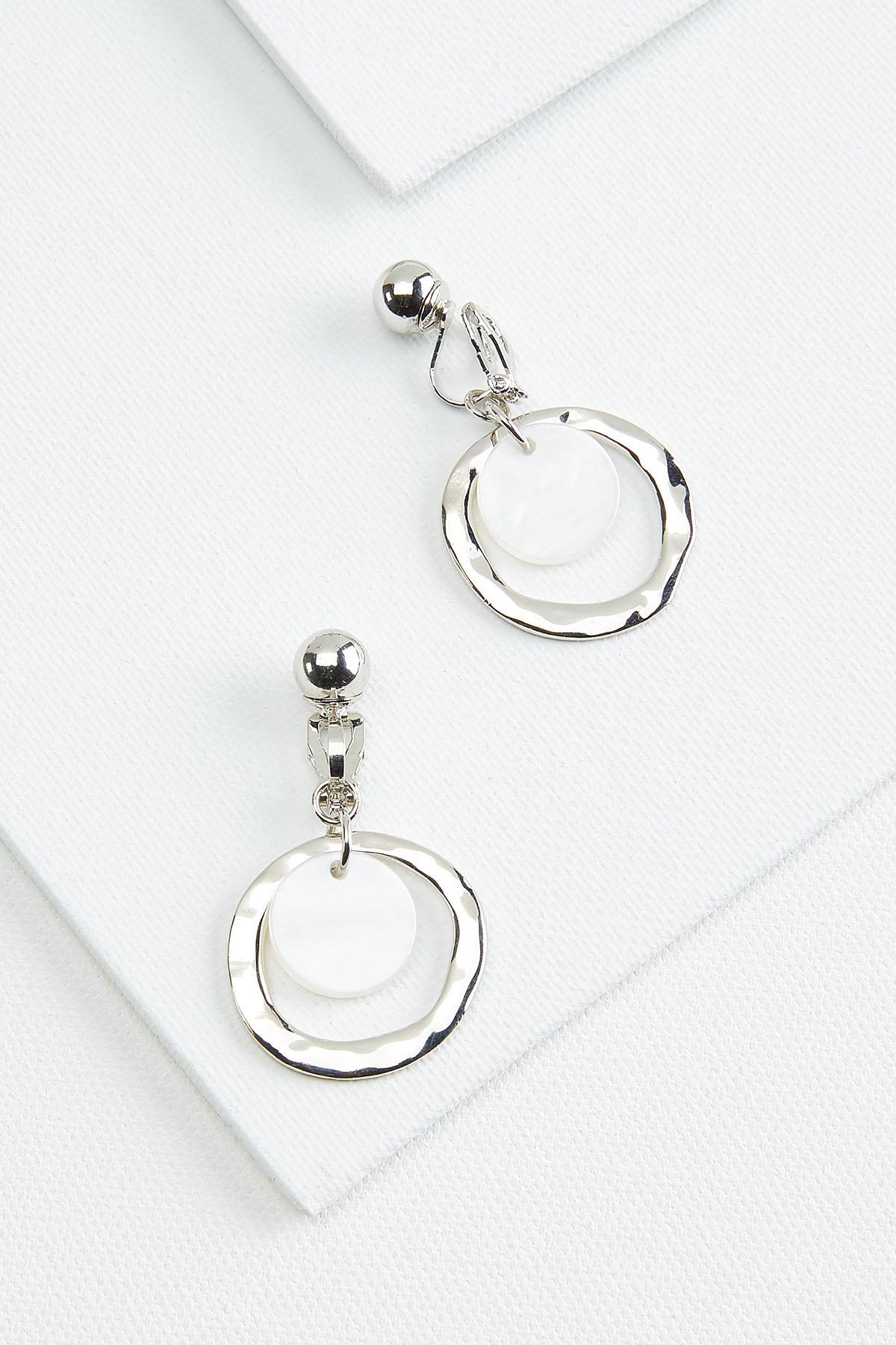 Double Circle Hoop Earrings