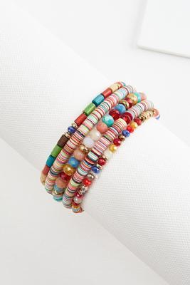 beaded friendship bracelet set