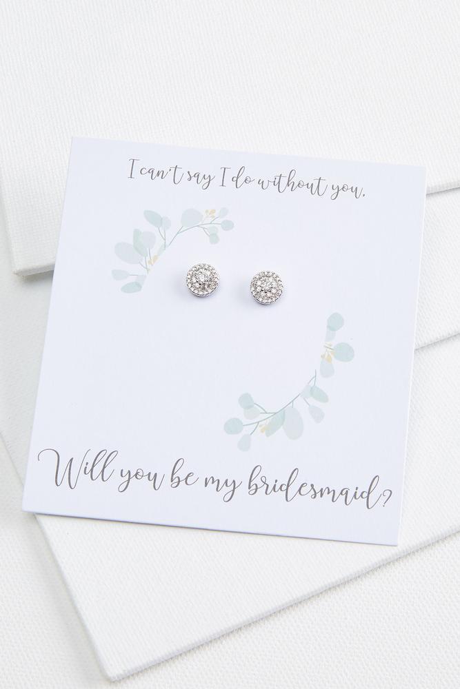 Be My Bridesmaid Earrings