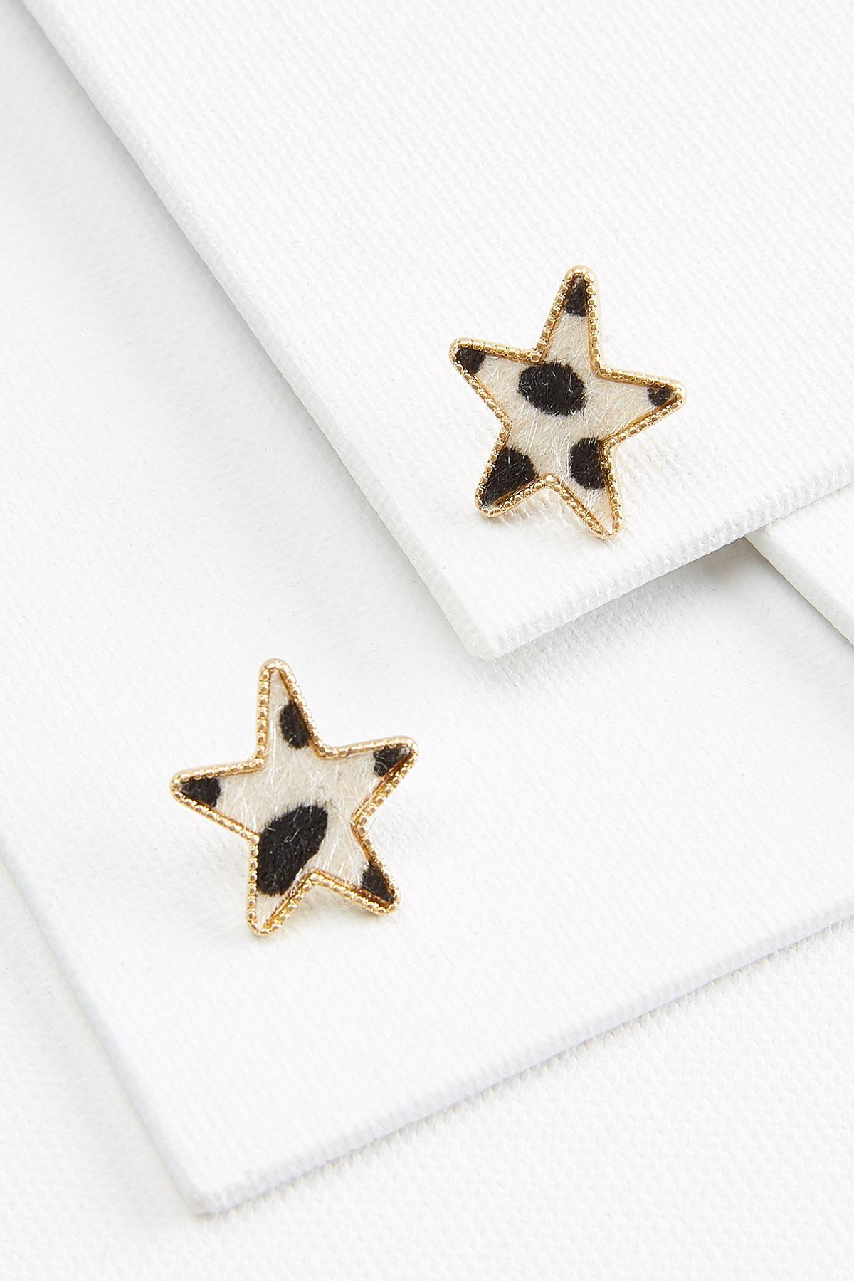 Animal Star Earrings