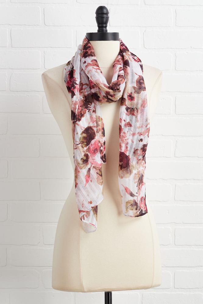 Feels Of Floral Scarf