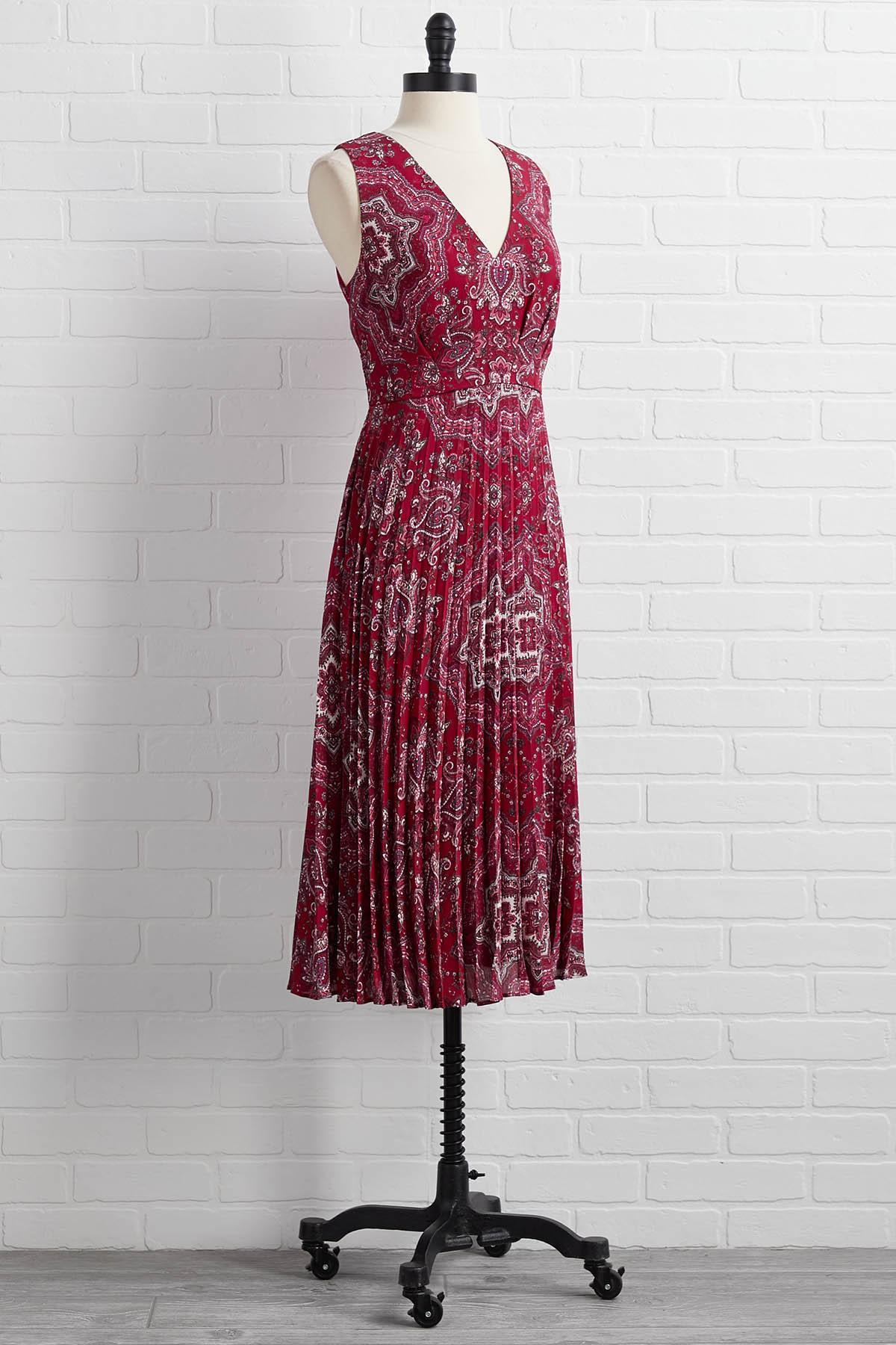 Easy To Pleats Dress