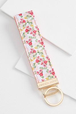 floral key fob