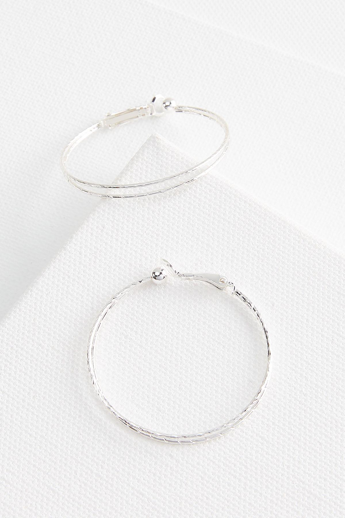 Clip On Hoop Earrings
