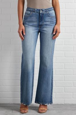 aiming high waisted jeans