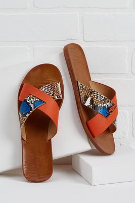 fierce footwork sandals