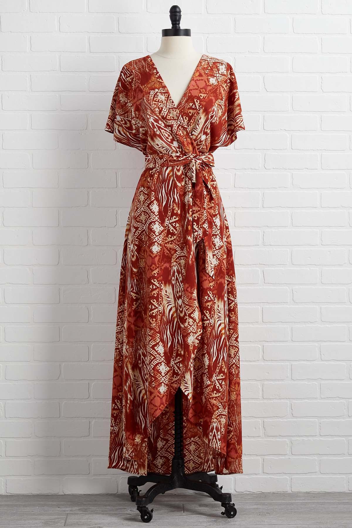 Fade Into Fall Dress