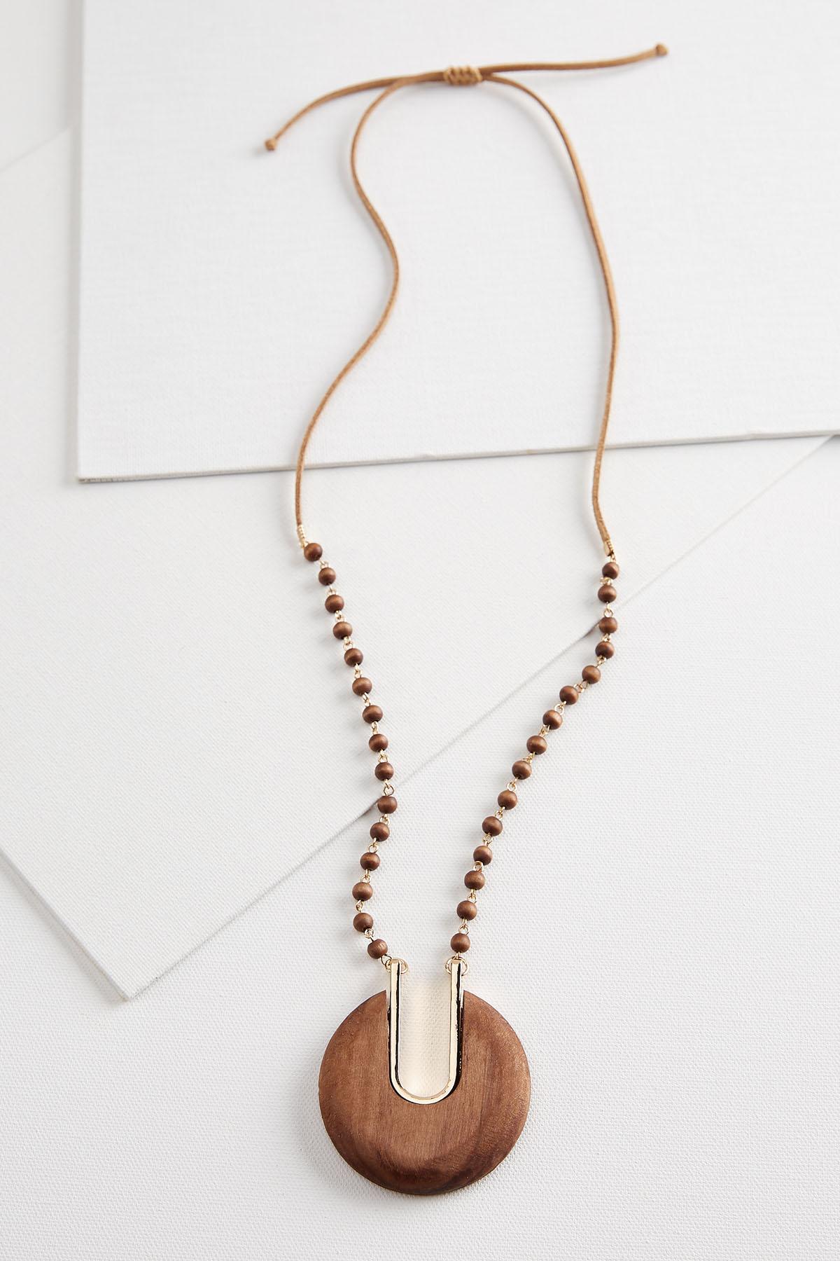 Wooden Boho Necklace
