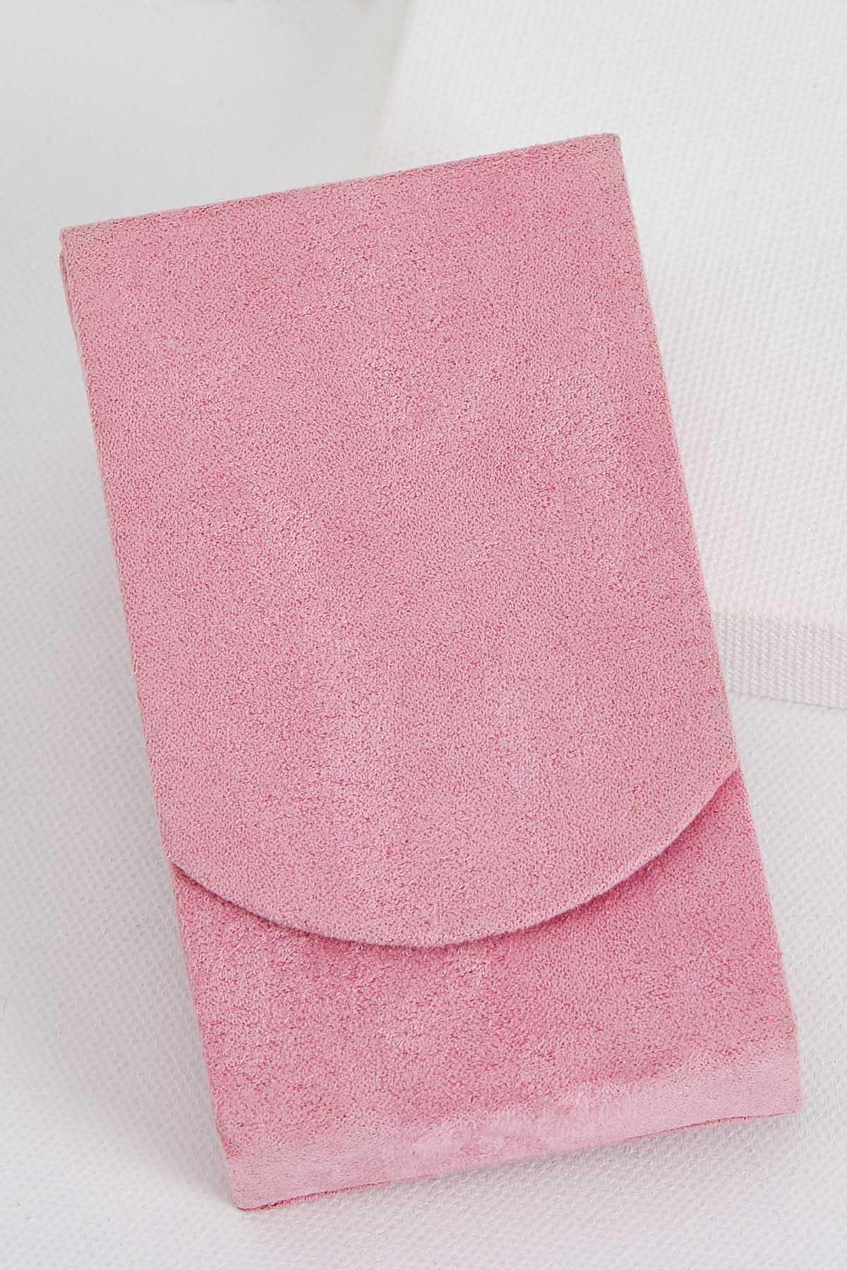 Faux Suede Tissue Holder
