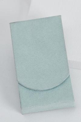 sky blue tissue holder