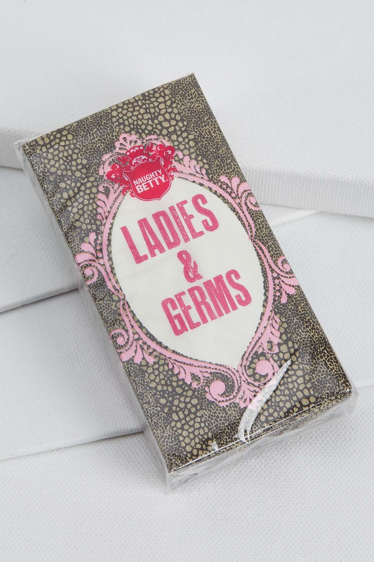 Ladies And Germs Tissue Pack