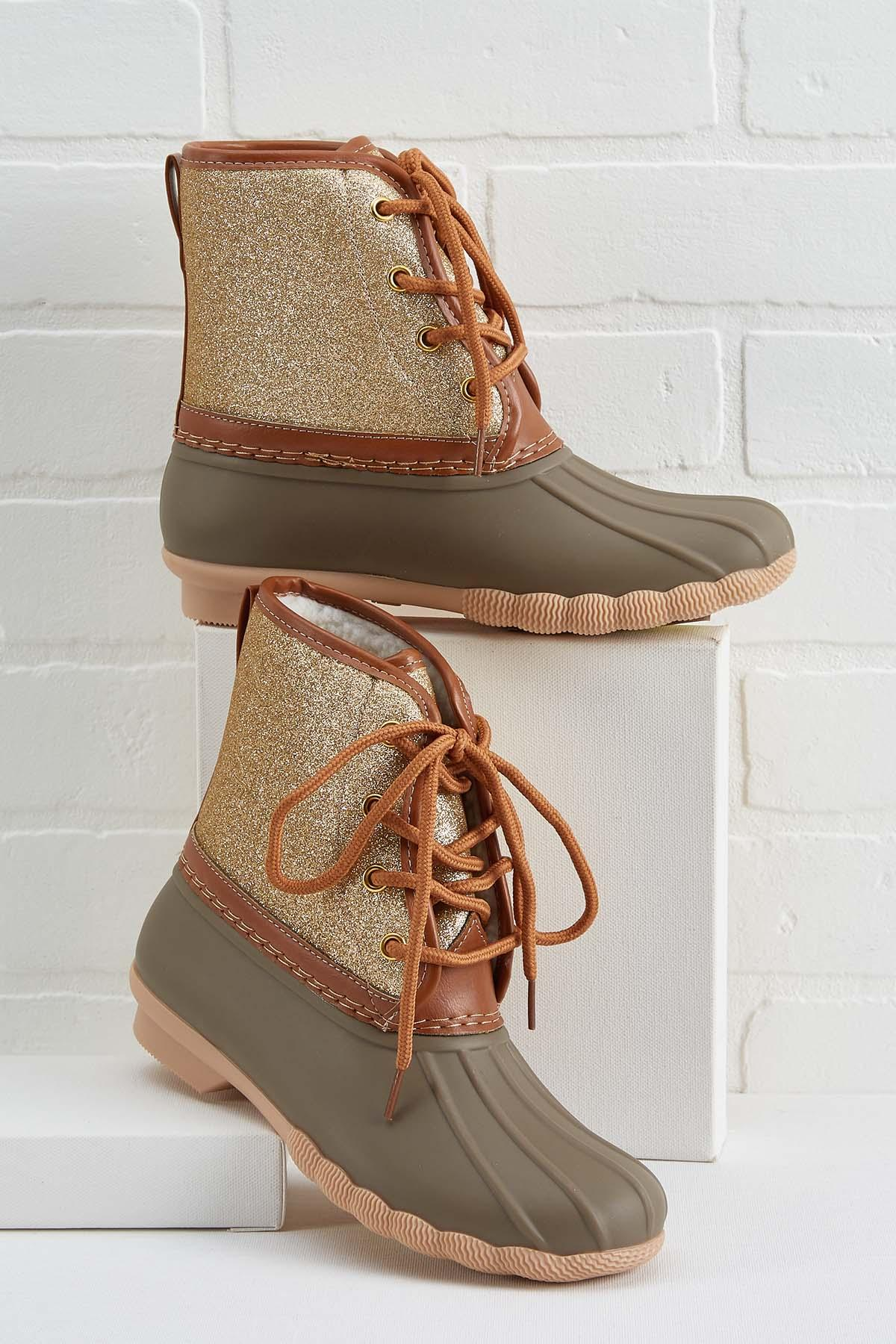 Sparkle On Duck Boots