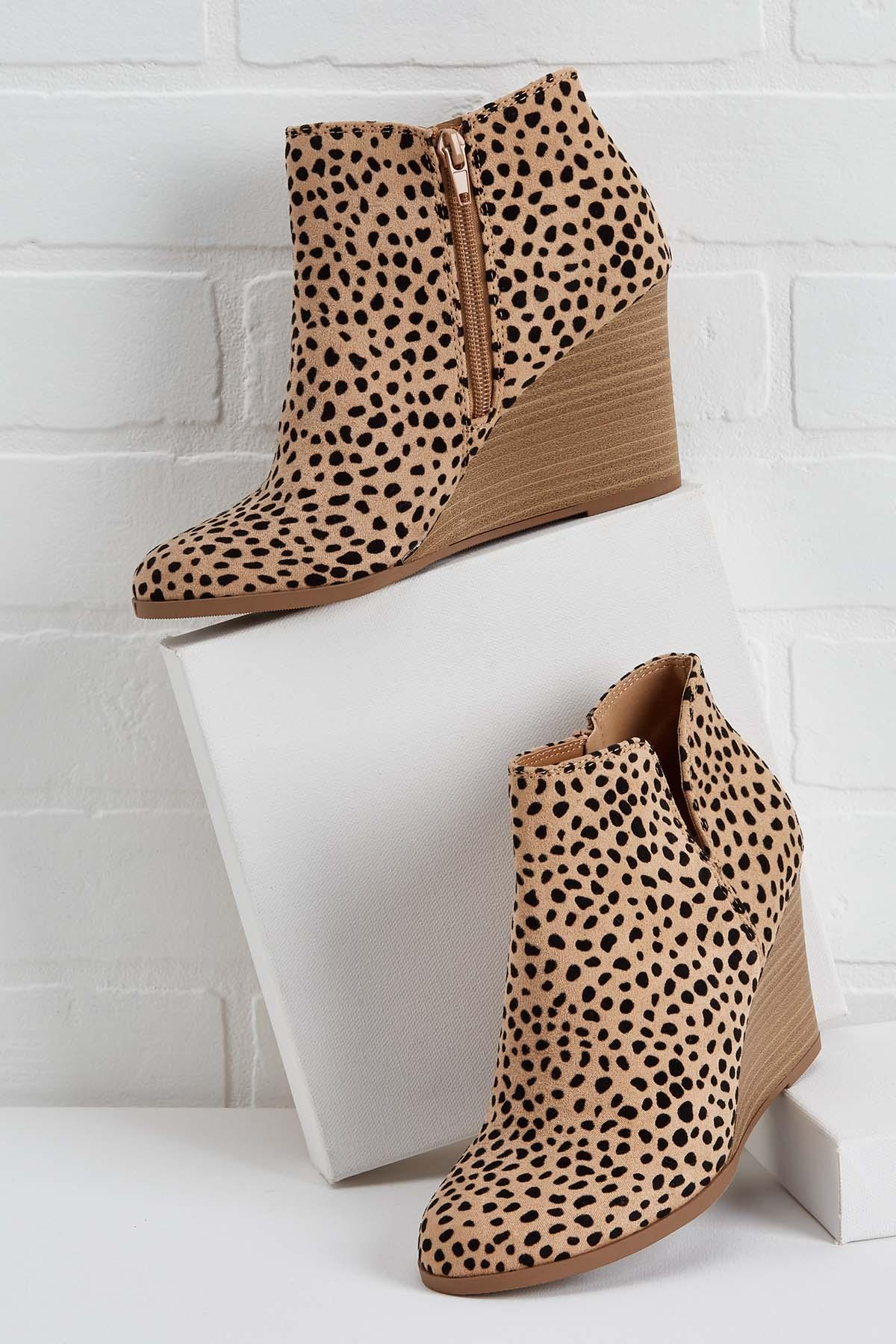 Spotted Looking Fab Booties