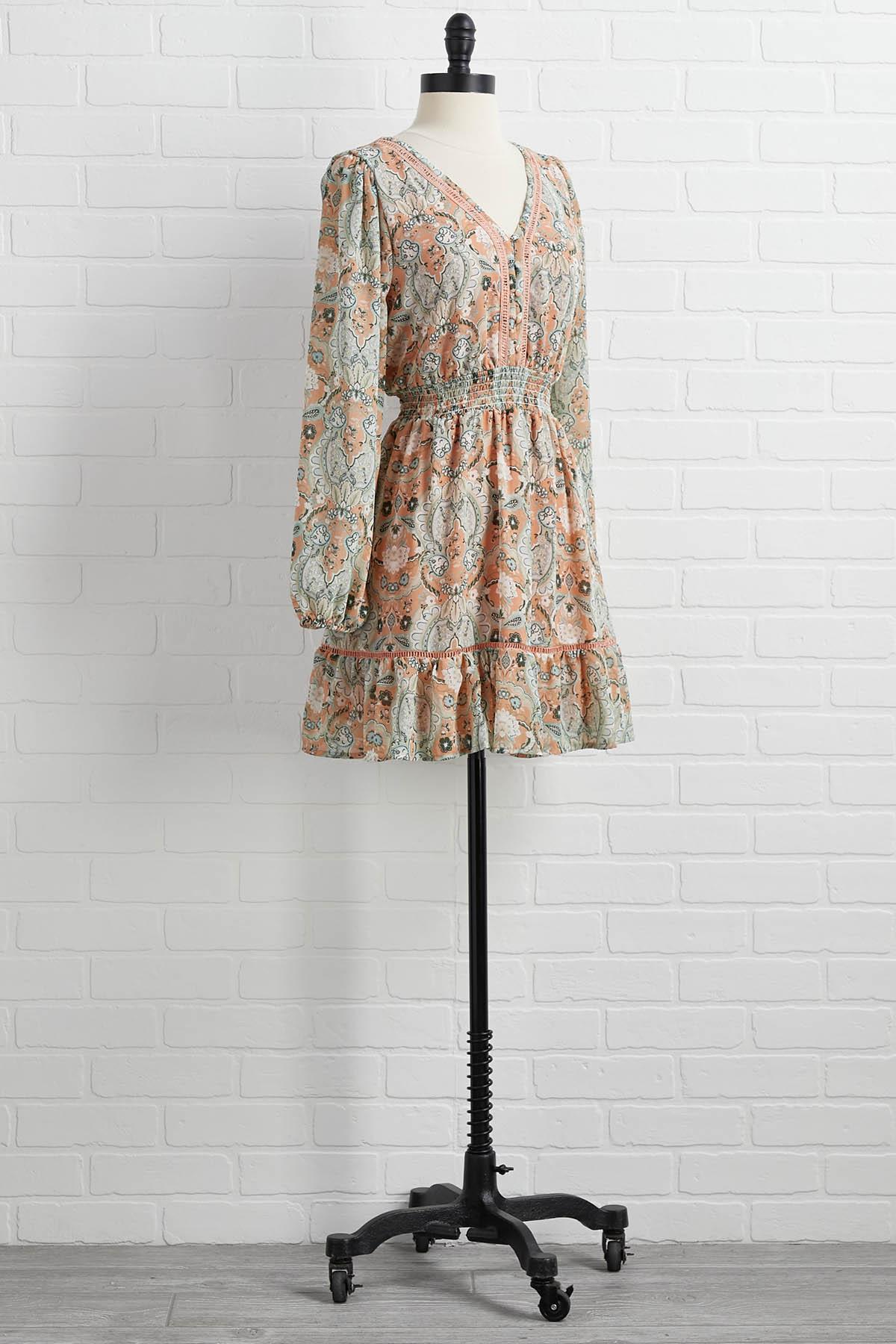 A Little Flirty Dress