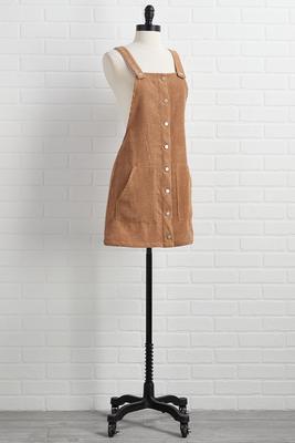 extra espresso jumper dress