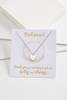 Bridesmaid Pendant Necklace