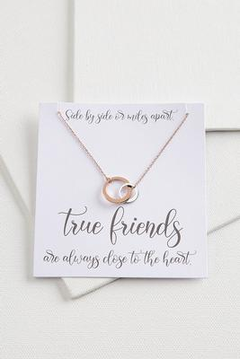 true friends necklace