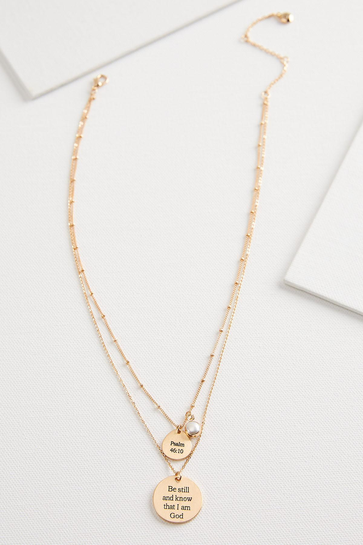 Be Still Layered Necklace