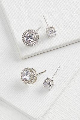 sparkly stud set