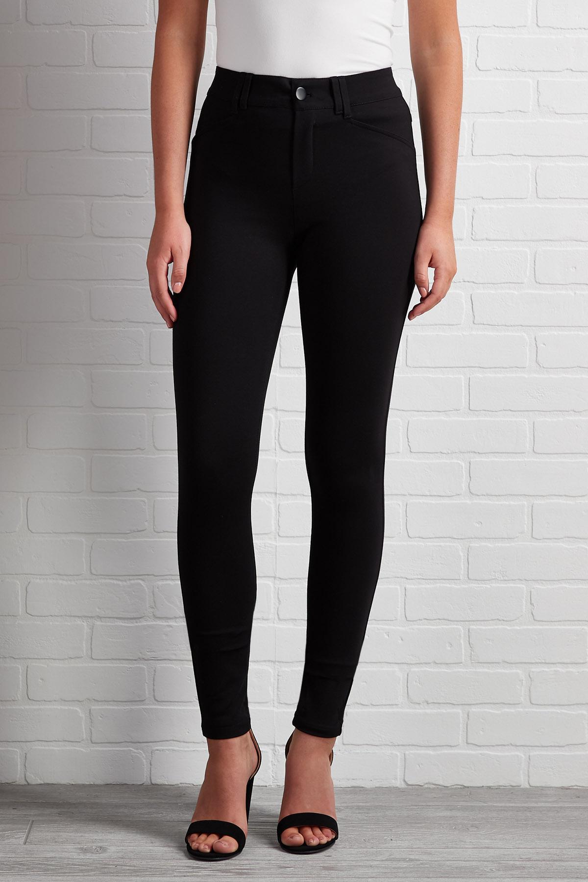 What A Girl Needs Ponte Pants