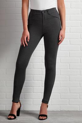 gray skies ponte leggings