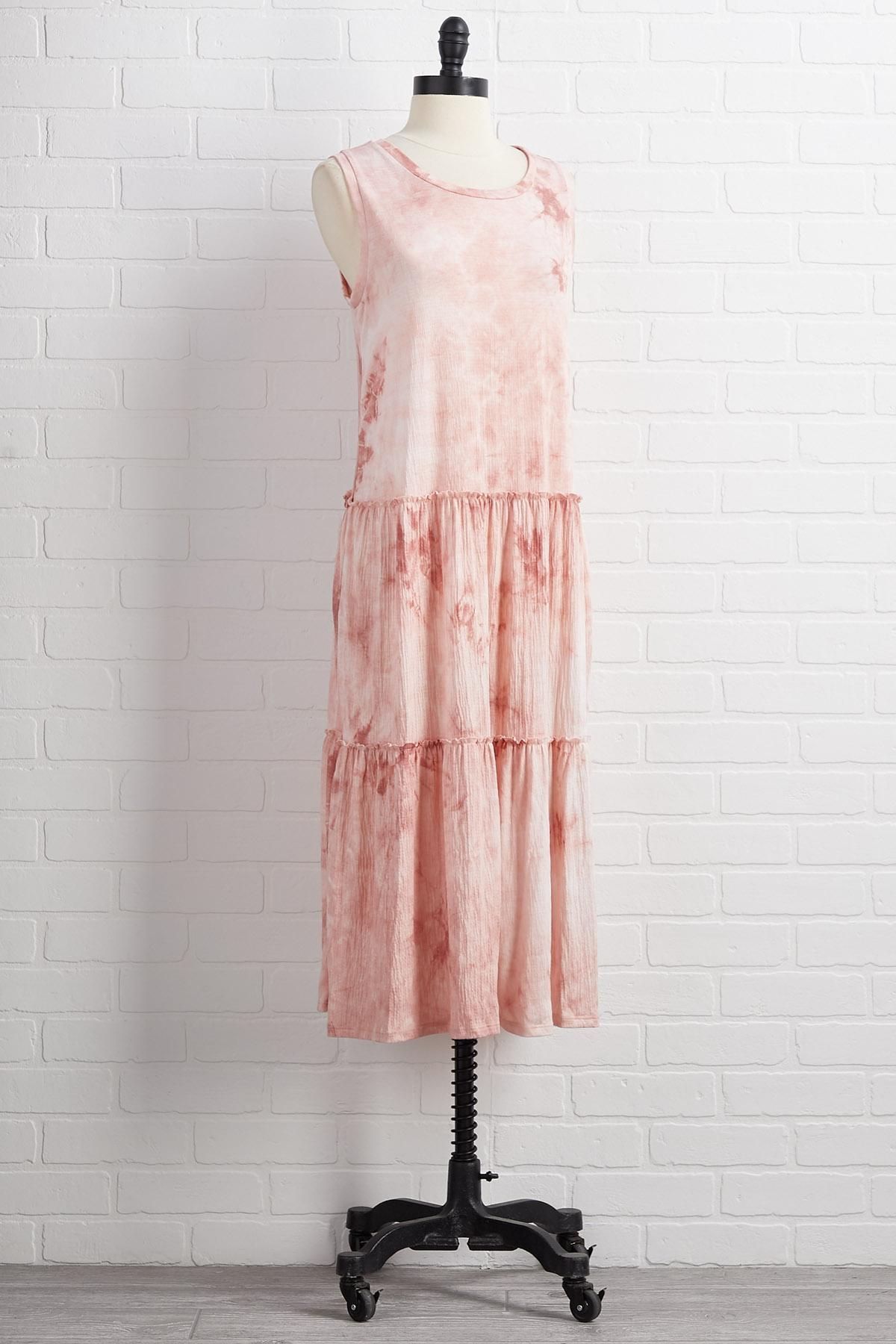 No More Tiers Dress