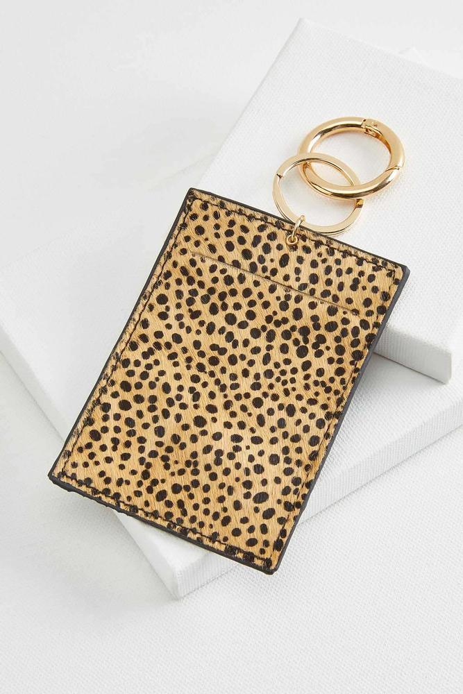 Leopard Id Keychain