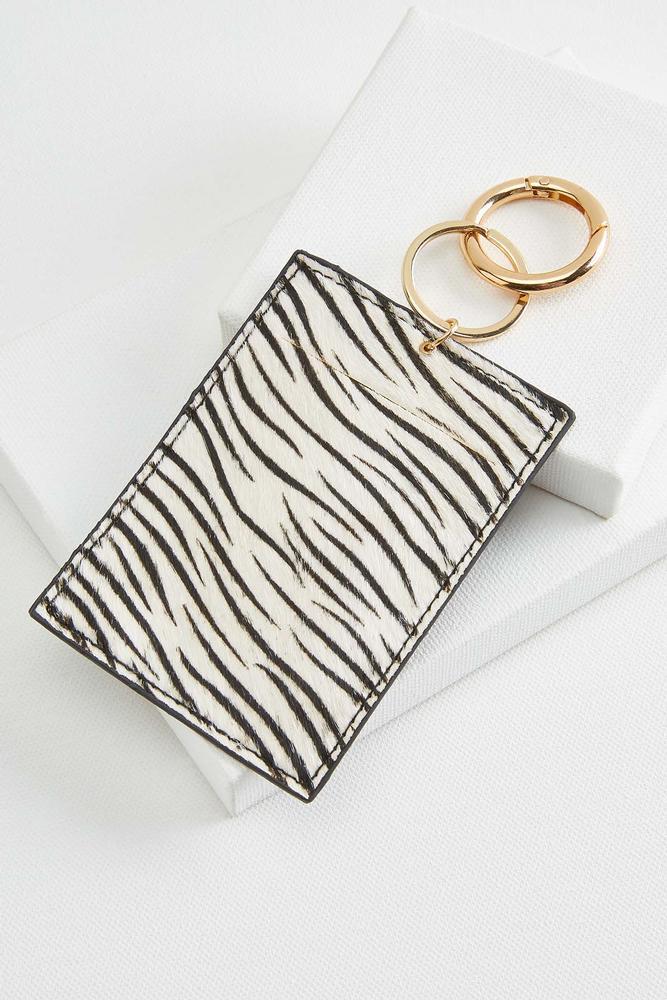 Zebra Id Keychain