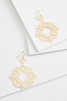 fancy filigree earrings