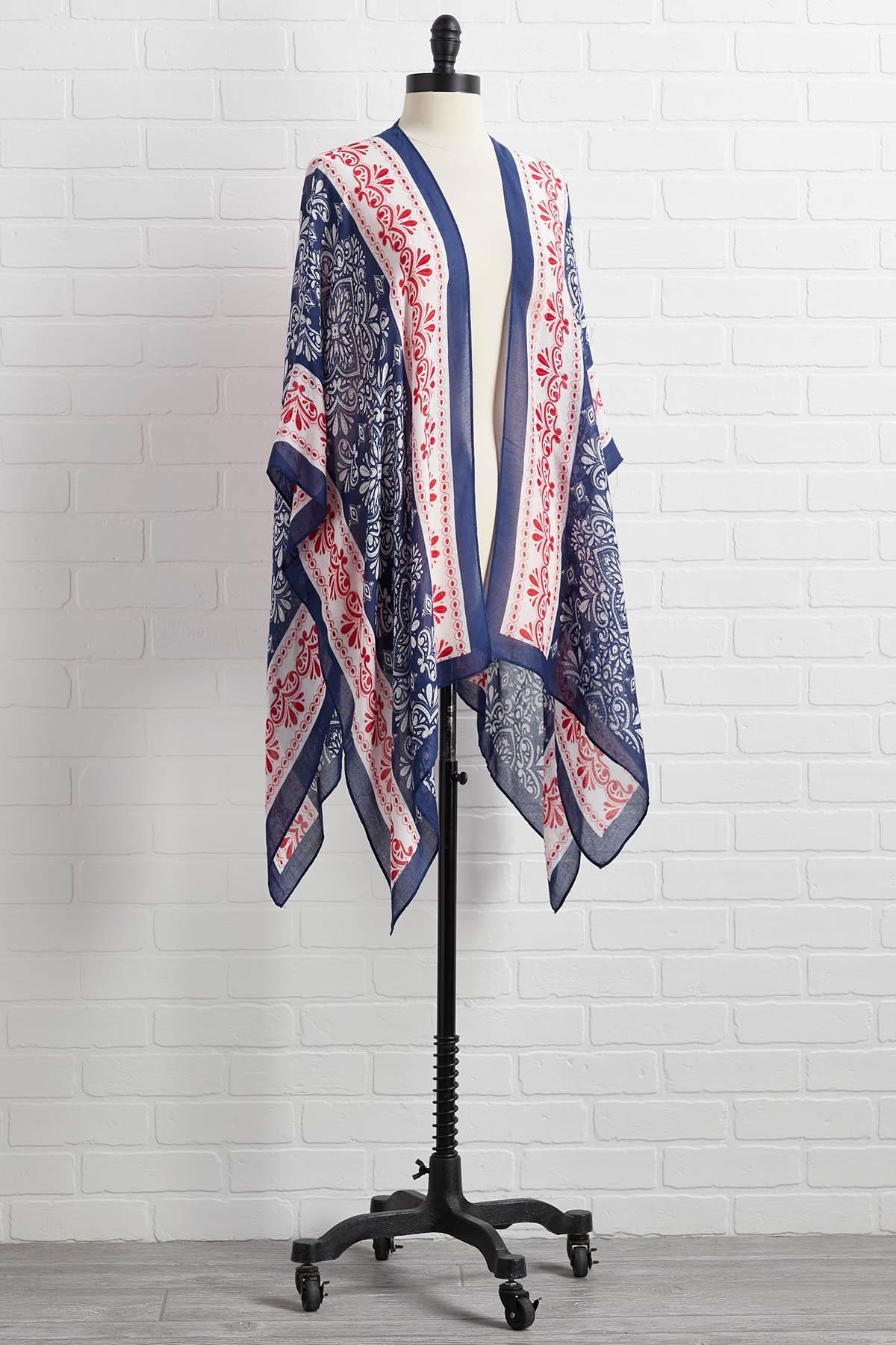 Backyard Bbq Kimono