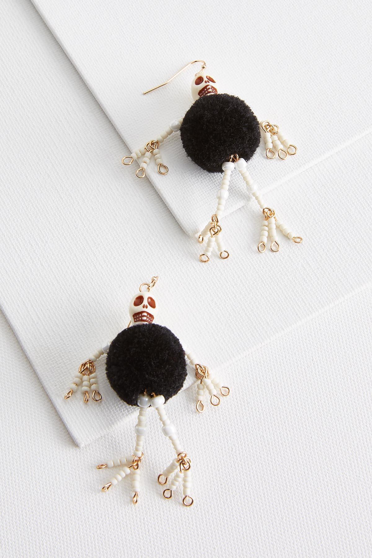 Shimmy Skeleton Earrings